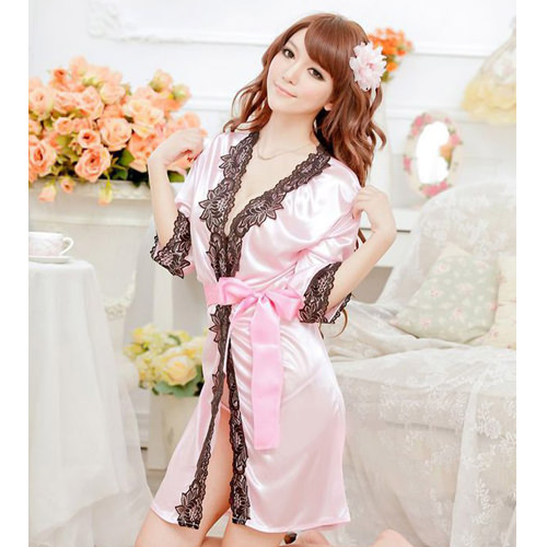 Pink Sexy Pyjamas with T-back PJ002PK