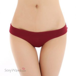 Plus Size Wine Red Sexy Panties G-String PGS001WRD