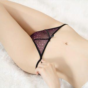 Sexy Panties Thong TB014BK