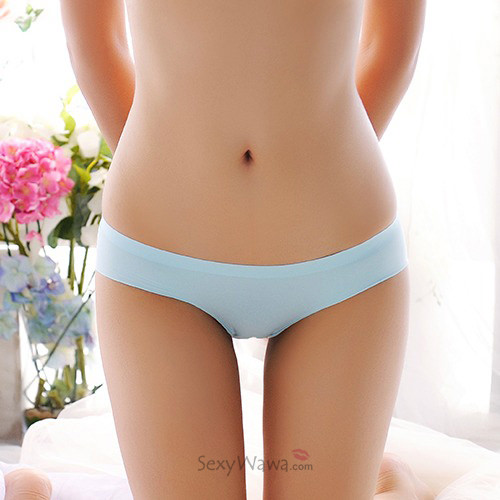 Blue Ice Silk Sexy Panties G-String GS030BL