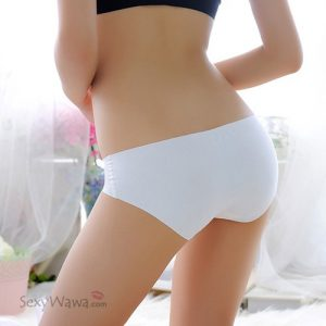 White Ice Silk Sexy Panties G-String GS030WH
