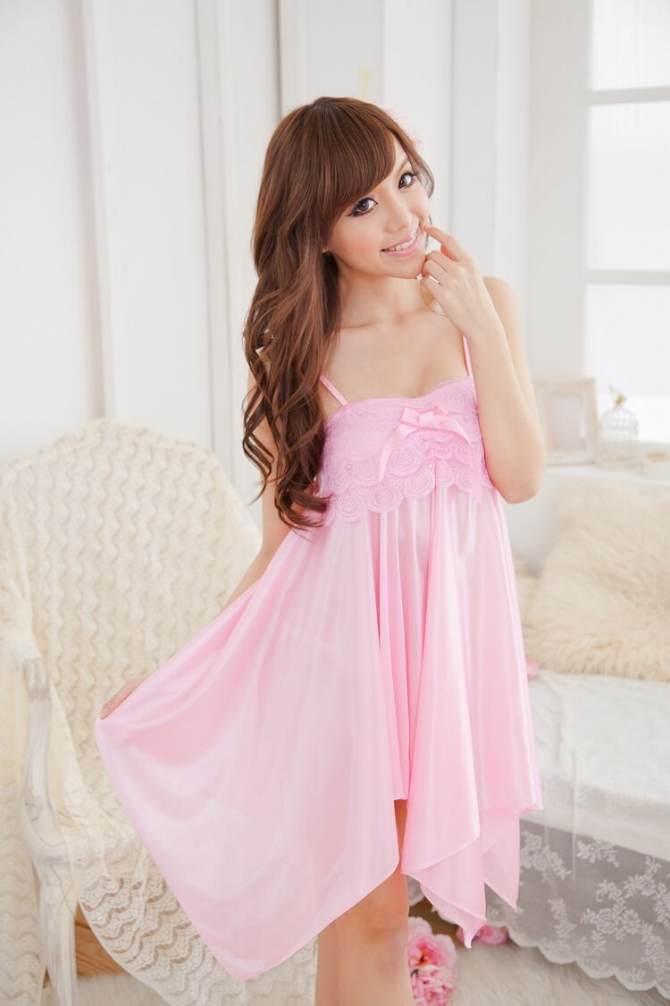 Sexy Babydoll with T-back BD013PK