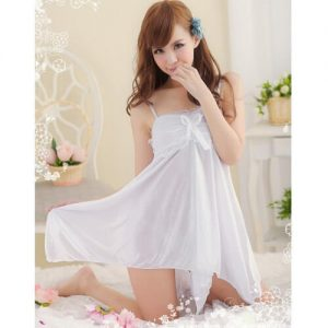 Sexy Babydoll with T-back BD013WH