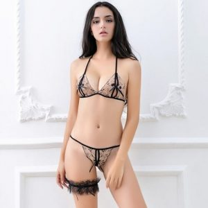 Sexy Lace Bikini Top Bra & Panties BK004BE