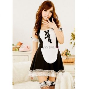 Temptation Sexy Maid Service MD003BK