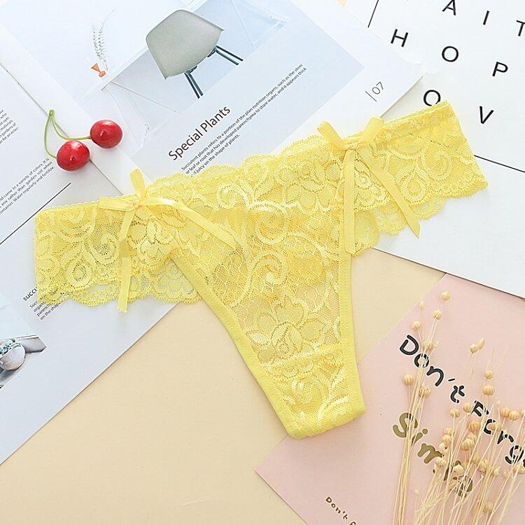 Sexy Panties Thong TB037YL
