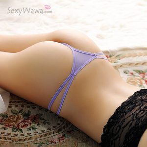 Purple Sexy Panties Thong TB044PP