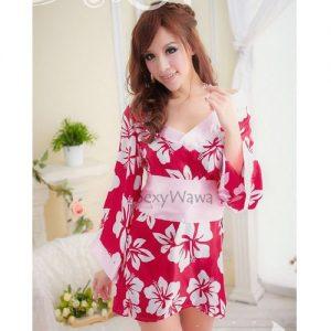 Japanese Sexy Kimono Pyjamas KM010