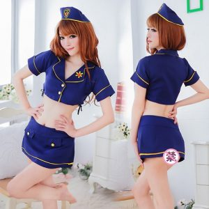 Sexy Stewardess Costumes SW001
