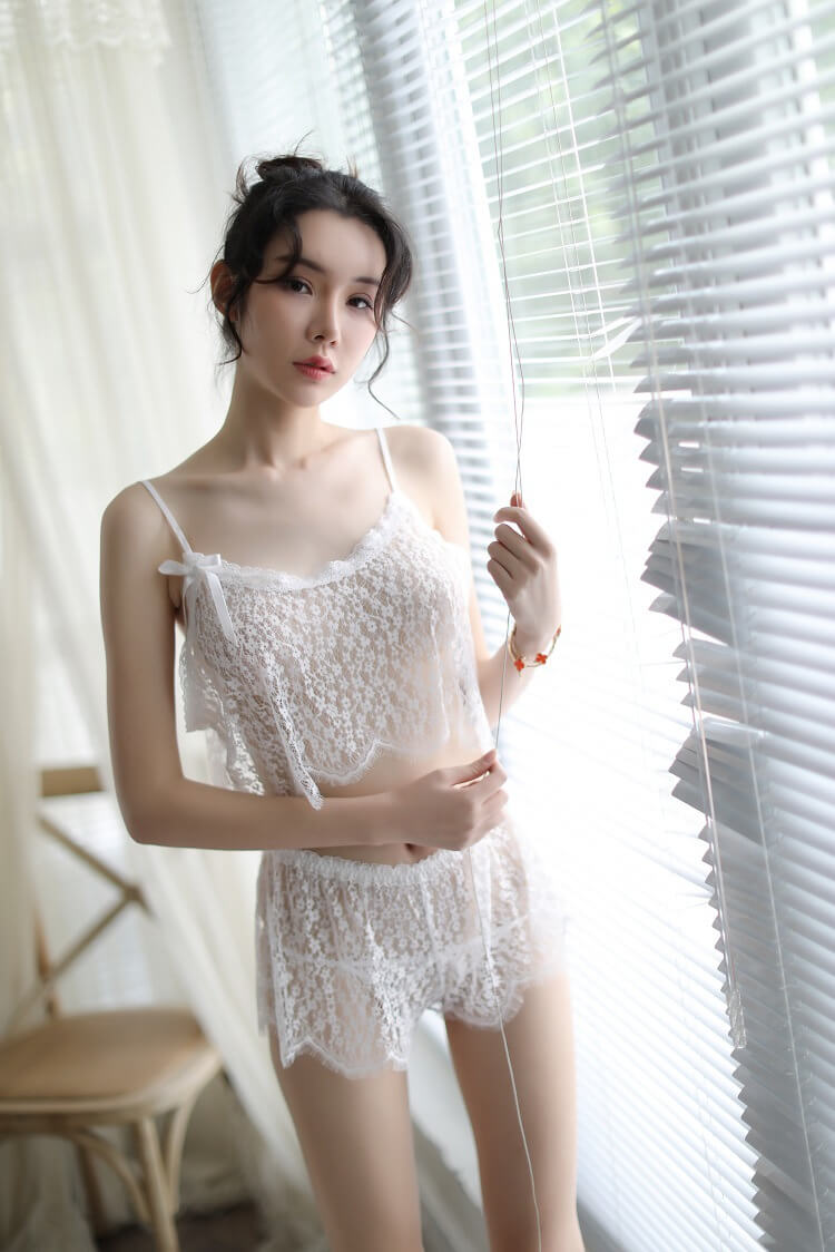Sexy Camisole With Panties CM003WH