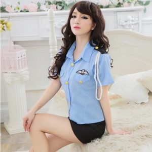 Sexy Policewoman Costume PL001