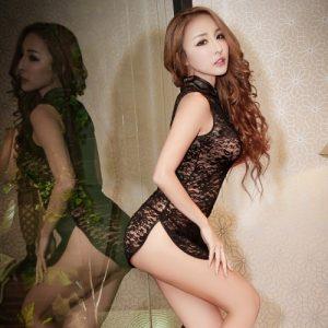 Sexy Cheongsam CH006BK
