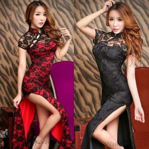 Sexy Long Cheongsam CH010