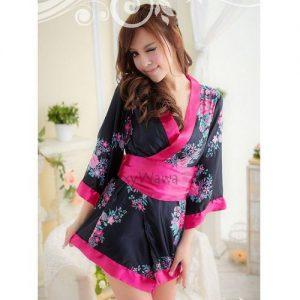 Sakura Japanese Sexy Kimono Pyjamas KM014