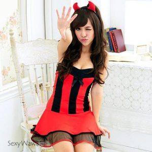 Red Devil Halloween Costume NC010
