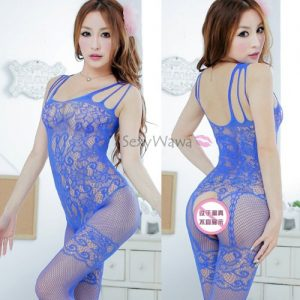 Sexy Transparent Fishnet Body Stocking SKB015BL