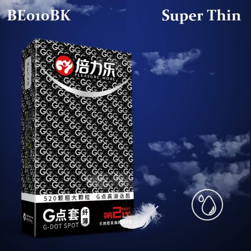 BE010BK Dotted Condom ( Super Thin )
