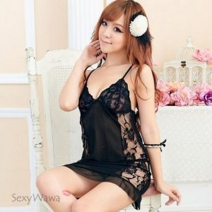 Sexy Babydoll with T-back BD032