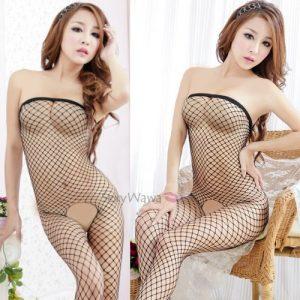 Sexy Fishnet Body Stocking SKB001BK