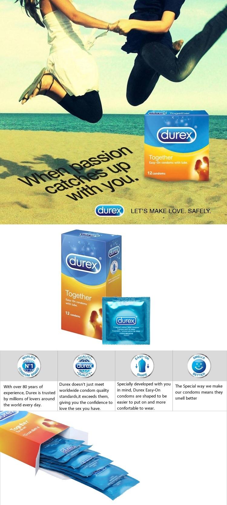 DRCD012 Durex Condom Info
