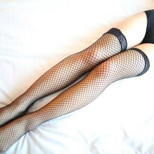 Fishnet Stocking SKL001BK