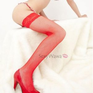 Fishnet Stocking SKL001RD