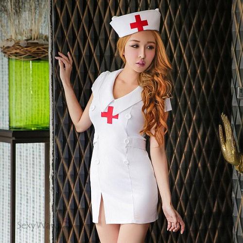 Sexy Nurse Suit NS007