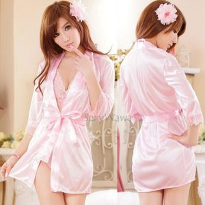 Pink Sexy Teddy with Pyjamas PJ001+TD011 (2PCS)