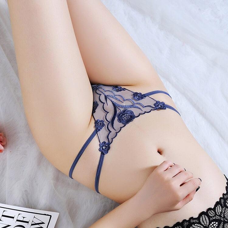 Sexy Panties Low Waist Thong TB040BL