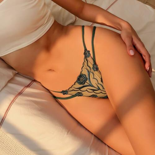 Sexy Panties Low Waist Thong TB040DG