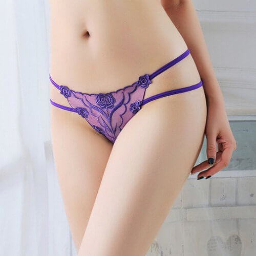 Sexy Panties Low Waist Thong TB040PP