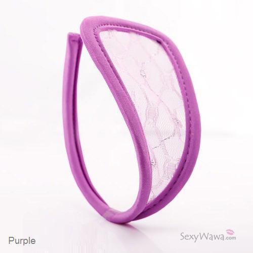 Purple Sexy Panties C-String CS003PP