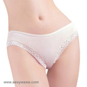 White Sexy Panties G-String GS039WH
