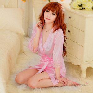 Pink Sexy Pyjamas PJ013PK