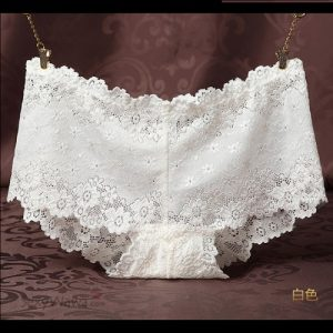 White Sexy Panties G-String GS031WH