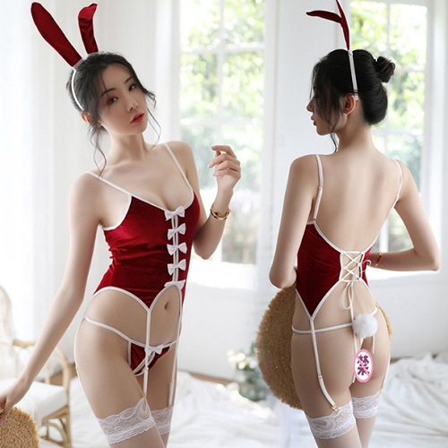 Sexy Bunny Rabbit Costume AN009RD