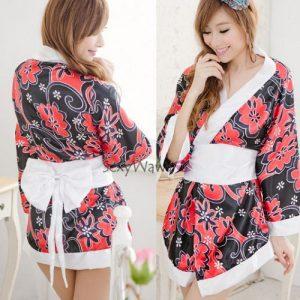 Japanese Sexy Kimono Pyjamas KM007