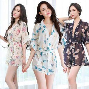 Sexy Kimono Pyjamas KM011