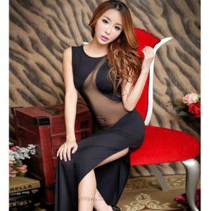 High Grade Long Nightgown Sexy Lingerie LD011