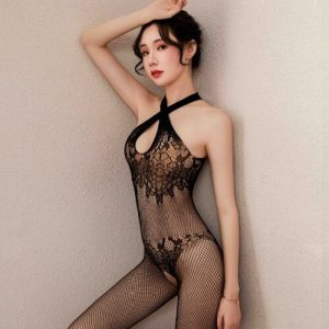 Sexy Fishnet Body Stocking Open Crotch Lingerie Hosiery SKB009
