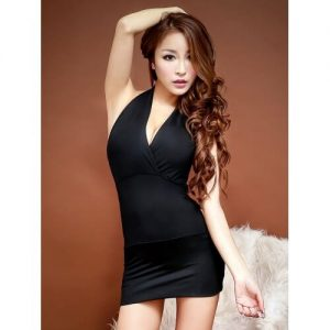 Temptation Nightclub Dress NC004BK