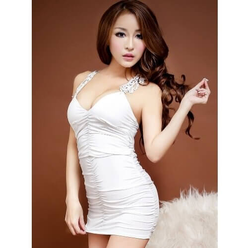 Temptation Nightclub Dress NC006WH
