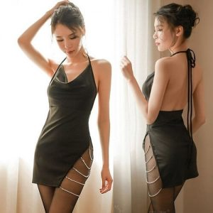 Sexy Nightclub Dress NC008BK