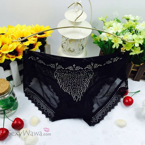 Black Sexy Panties G-String GS035BK