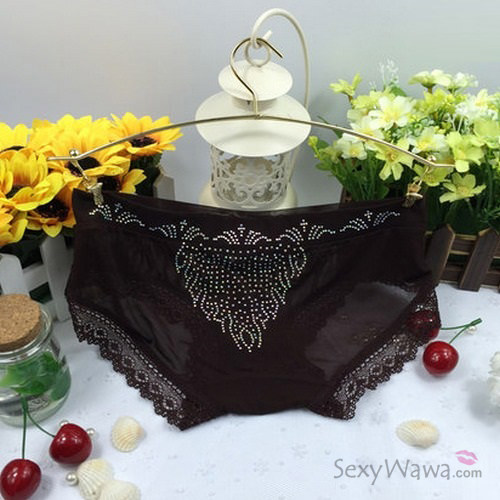 Coffee Color Sexy Panties G-String GS035CF