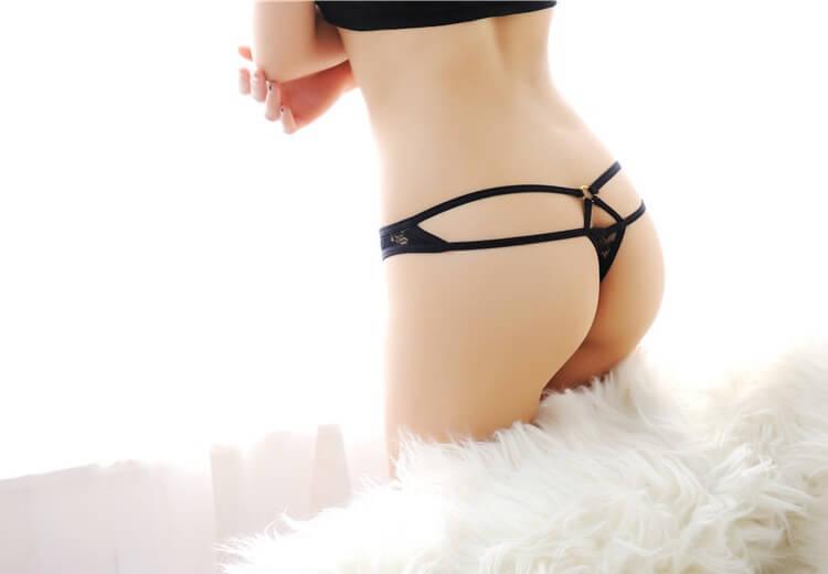 Sexy Panties Thong TB041BK