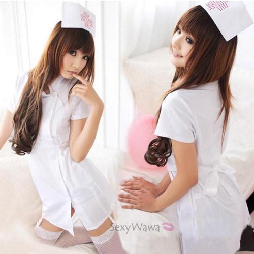 Sexy Nurse Suit NS009WH