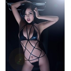 Sexy SM Clothes Elasticity Band Set SM002BK