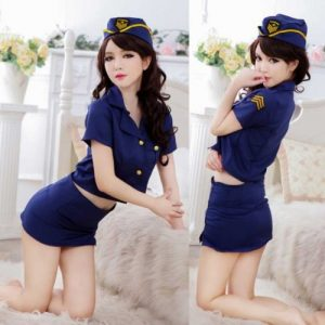 Sexy Policewoman Costume PL005