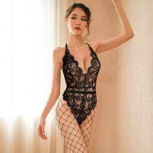 Backless Tights Bodysuit Sexy Teddy TD018BK